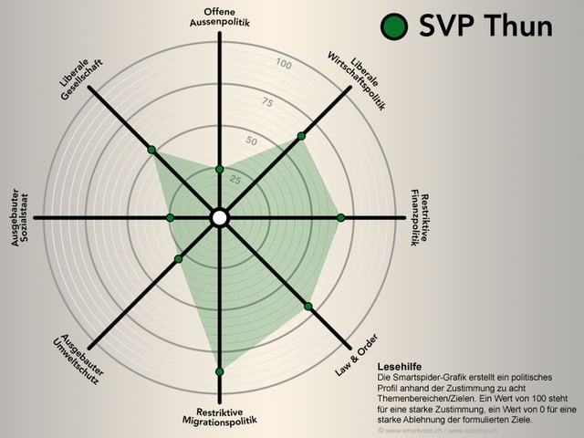 Smartspider der SVP Thun