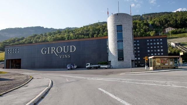 Das Gebäude von Giroud Vins in Sion Anfang Juni dieses Jahres.