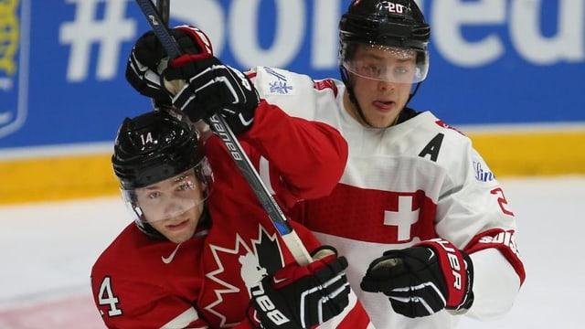 Die U20 zeigte sich gegen Kanada kämpferisch.