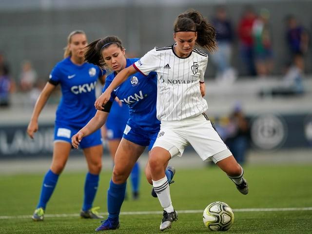 Der Frauen-Fussball in der Schweiz.