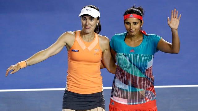 Martina Hingis e Sania Mirza,