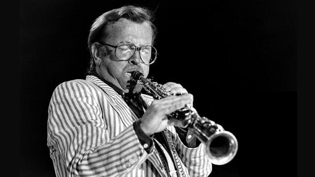 Klaus Doldinger am Montreux Jazz Festival 1984.