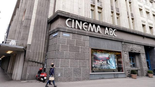 Das Kino ABC in der Stadt Zürich