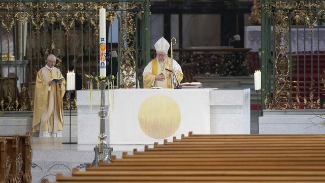 So leer wie an Ostern soll es in den Kirchen möglichst bald nicht mehr sein.