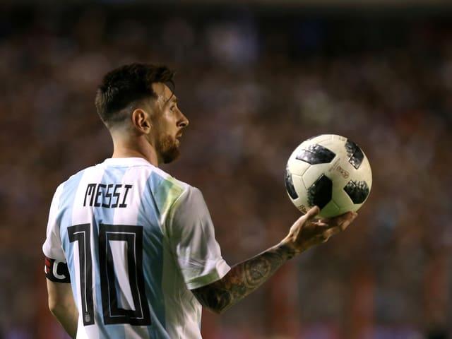 Argentiniens Lionel Messi.