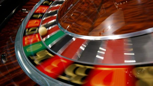 Roulette-Spiel.