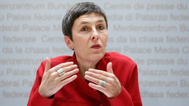 SP-Vizepräsidentin Barbara Gysi.
