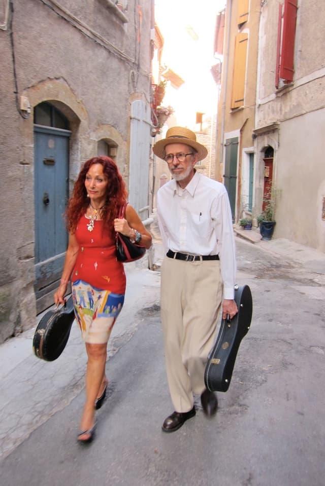 Aline und Robert in ihrer neuen Heimat Südfrankreich.