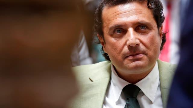 Unglückskapitän der Costa Concordia, Francesco Schettino.