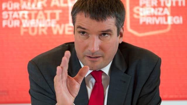 Christian Levrat, president da la PS.