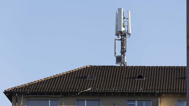 Antenne auf Dach