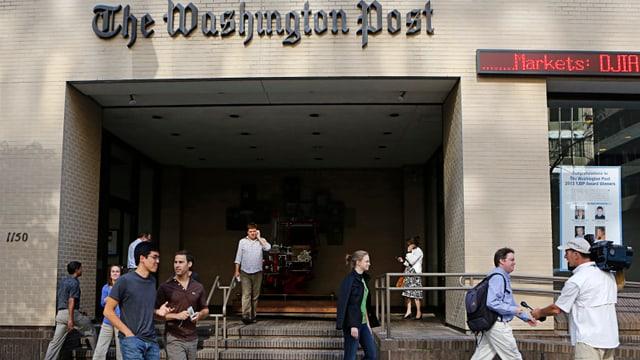 Hauptsitz der «Washington Post» in Washington.
