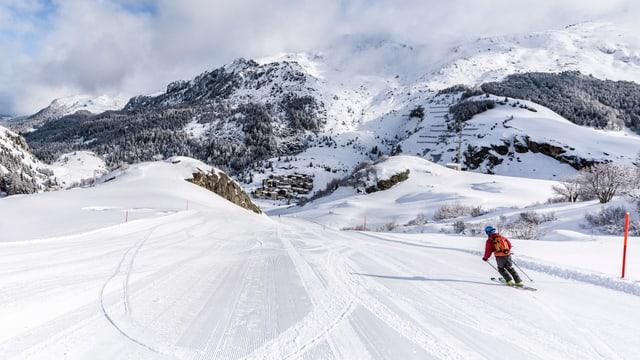 In skiunz sin ina pista