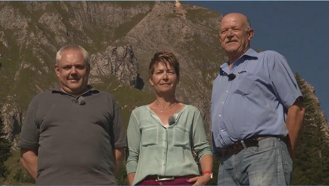 Video «Kanton St. Gallen – Tag 2 – Berghaus Palfries, Azmoos (WH)» abspielen