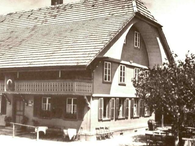 Altes Berner Bauernhaus.