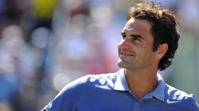 Roger Federer führt sich derzeit auf dem Tennisplatz ausserordentlich wohl.