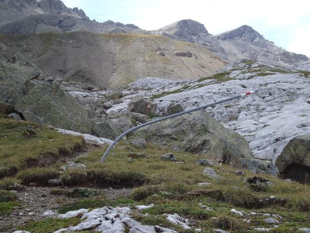 Nach Klosters beginnt das Rätikon, das Prättigau wo sich ebenfalls zahlreiche Walserfraktionen befinden.