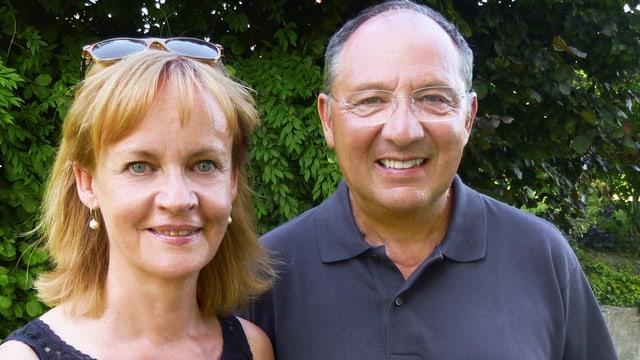 Kathrin Hildebrand und Beni Thurnheer
