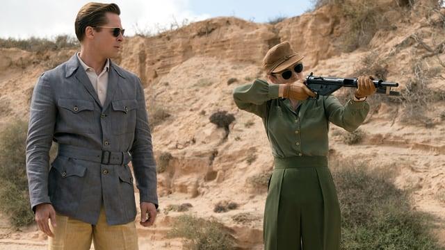 Szene aus «Allied»
