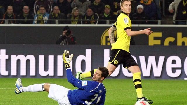 Marco Reus erzielte beim Heimsieg gegen Frankfurt alle 3 Tore.