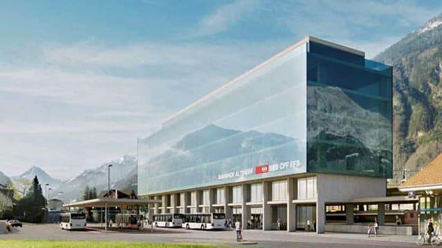 Projekt neuer Bahnhof