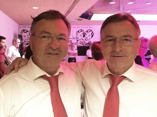 Männliches Zwillingspaar