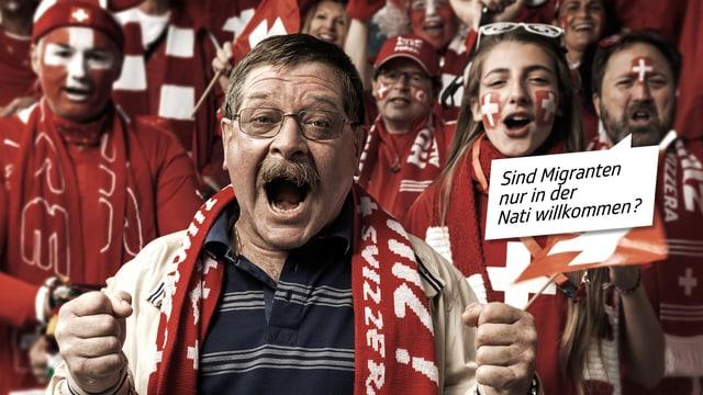 Schweizer Fussball-Fans