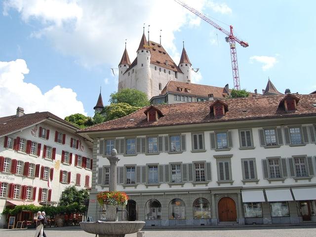 Altstadt von Thun mit Schloss.