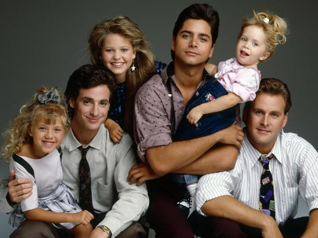 Schlimmste und tollste Grossfamilie in einer Serie: Die Tanners in «Full House».