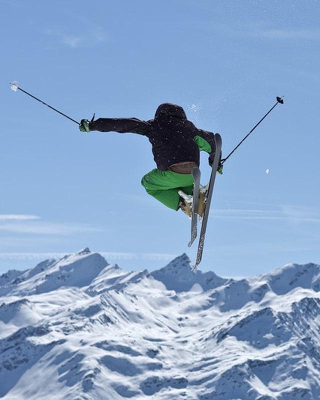 In skiunz a Verbier.