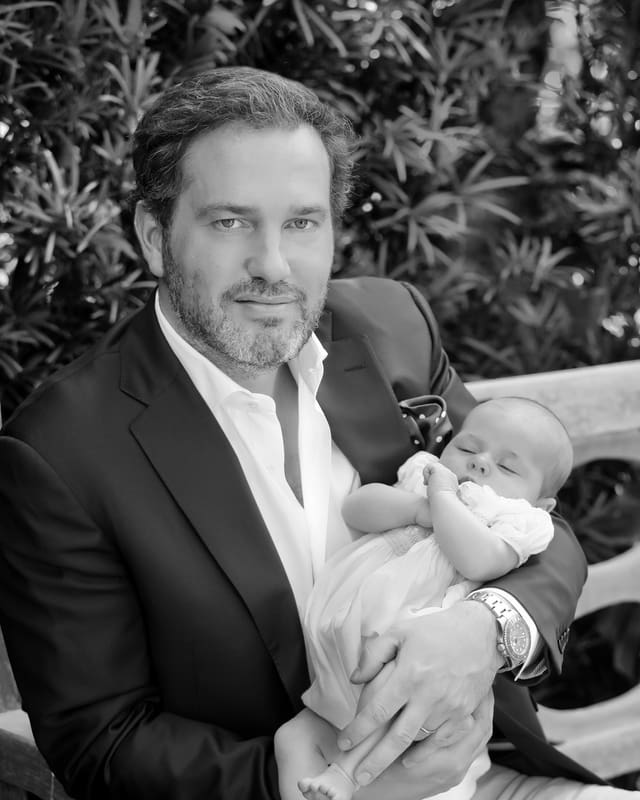 Chris O'Neill mit Prinzessin Leonore