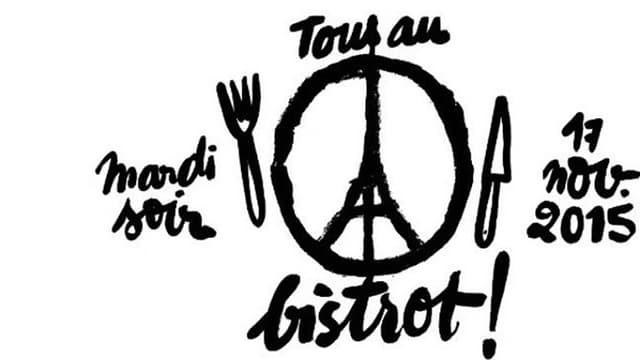 #tousaubistrot: Ein Hashtag gegen die Angst