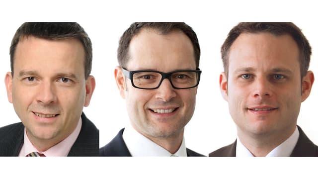 Drei Porträts