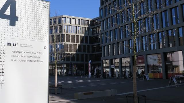 Campus der Fachhochschule in Windisch.