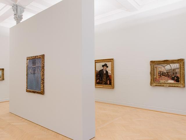Impressionisten (von links): Claude Monet, Lovis Corinth, Max Liebermann