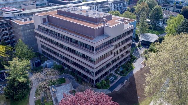 Das neue Gebäude des Universitätsspitals.