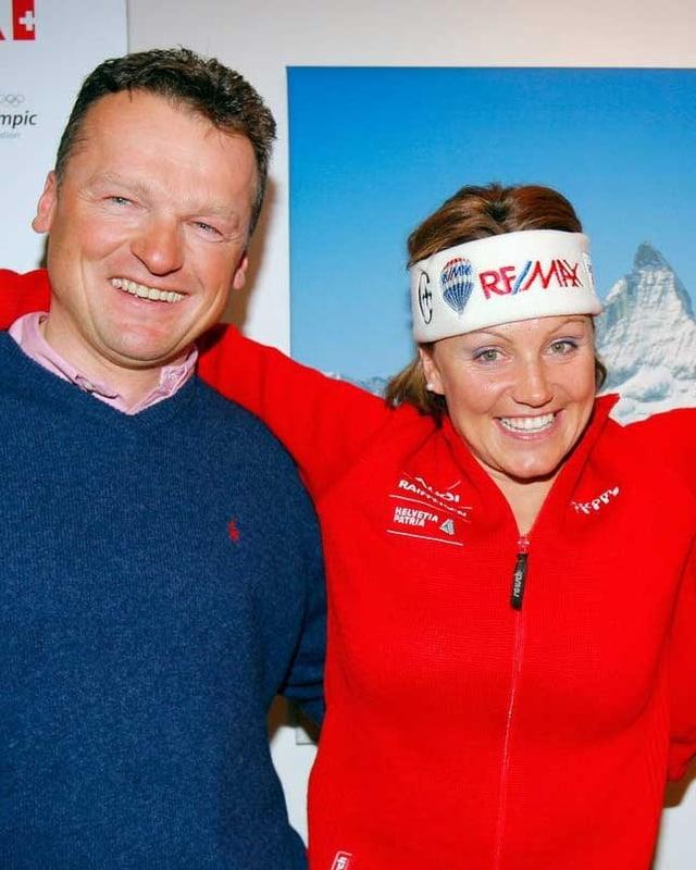 Hans Flatscher und Sonja Nef