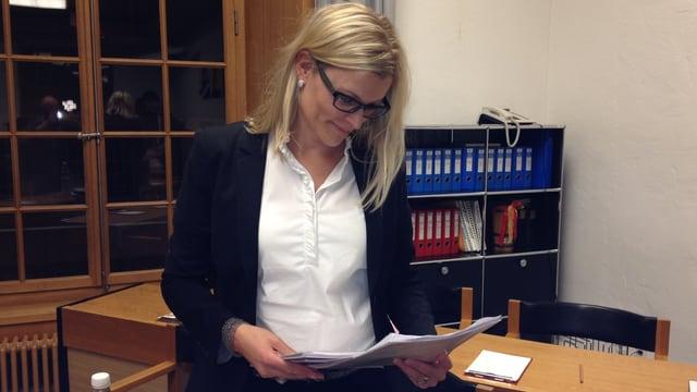 Die Winterthurer Finanzvorsteherin Yvonne Beutler erwägt das Budget des Gemeinderates beim Bezirksrat anzufechten.