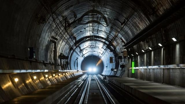 Il nov tunnel dal Gottard