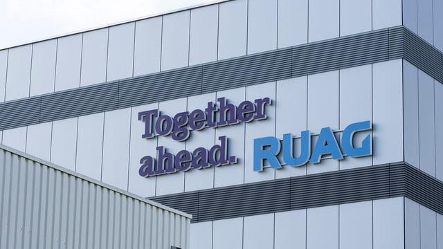 Logo Ruag.