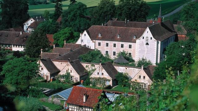 Kartause Ittingen von oben