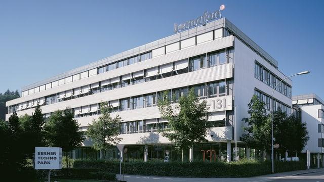 Der Hauptsitz in Bern.