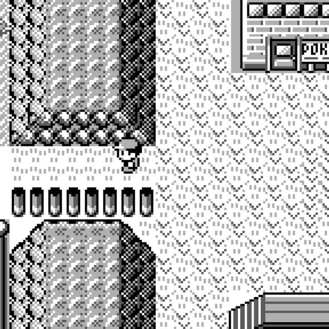 Pokémon auf dem Gameboy