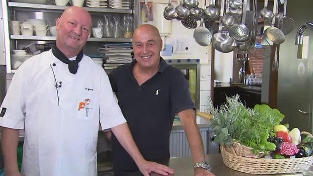 Video «Kanton Zürich – Tag 2 – Restaurant Frieden & Fisch, Oberohringen» abspielen