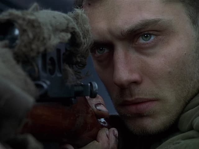 Jude Law als sowjetischer Sniper in «Enemy at the Gates» (2001).
