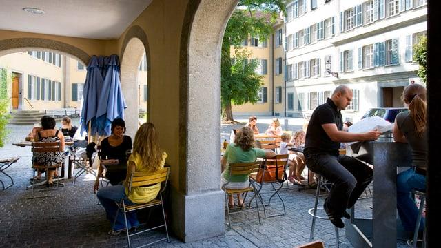 Altstadt von Winterthur.