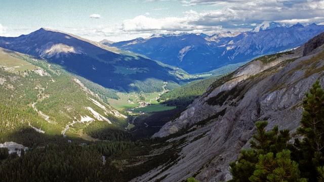 La Val Müstair da Süsom Givè.