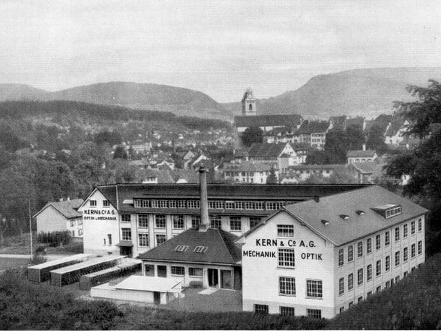 Die alte Kern-Fabrik im Schachen Aarau