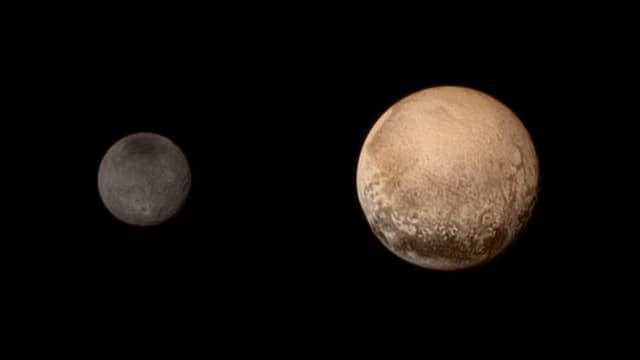 «New Horizons»-Aufnahme von Pluto und Charon