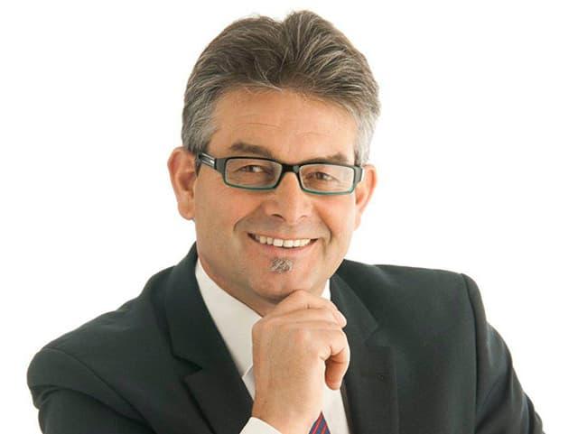 SVP-Vizepräsident Martin Haab.